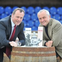 Neil Boyd, UK Commercial Director of Ian Macleod Distillers with Alex Nicol, founder of Spencerfield Spirit Company.