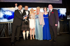 Tennent's Quality Award. Winner: Cheers Cafe Bar & Tavern, Fraserburgh