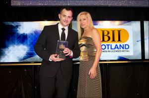 BII Scotland Customer Service Award. Winner: Gamba, Glasgow