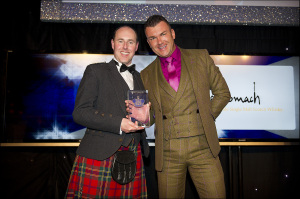 Benromach Award for Success. Winner: Steven McLeod, Aurora Hotel Collection