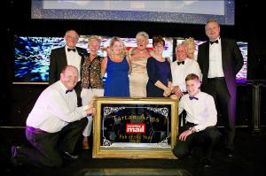 Sunday Mail Pub of The Year. Winner: Tartan Arms