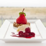 SWEET TOOTH HEAVEN: Raspberry Poached Pear and Glayva Cranachan