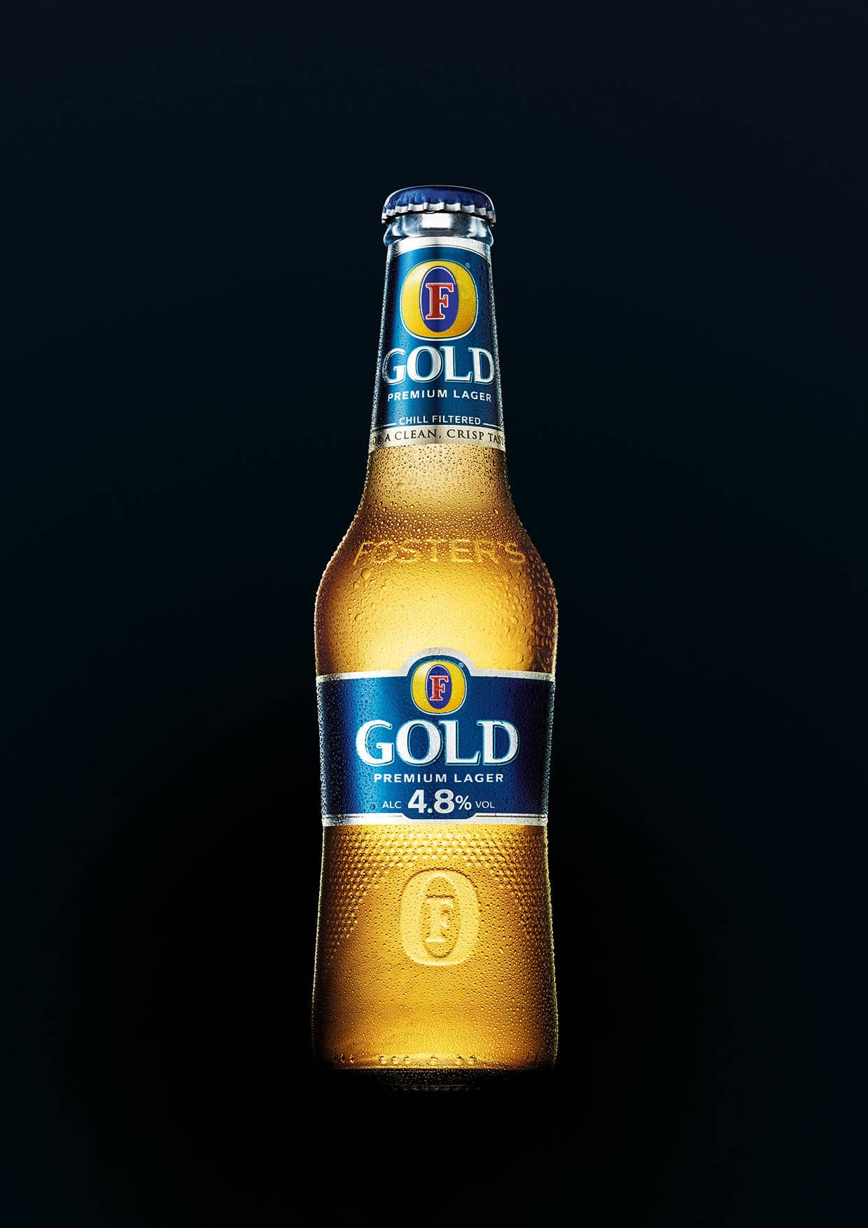 Fosters Gold New Bottle