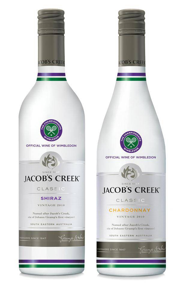 44036 Wimbledon Jacobs Creek Chardonnay and Shiraz
