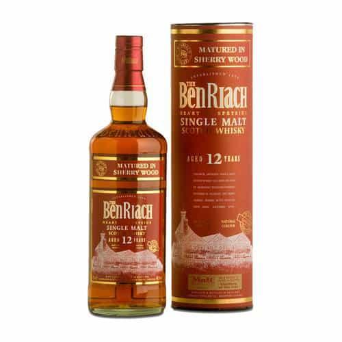 benriach 12 years sherry