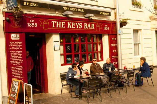 Keys bar St Andrews