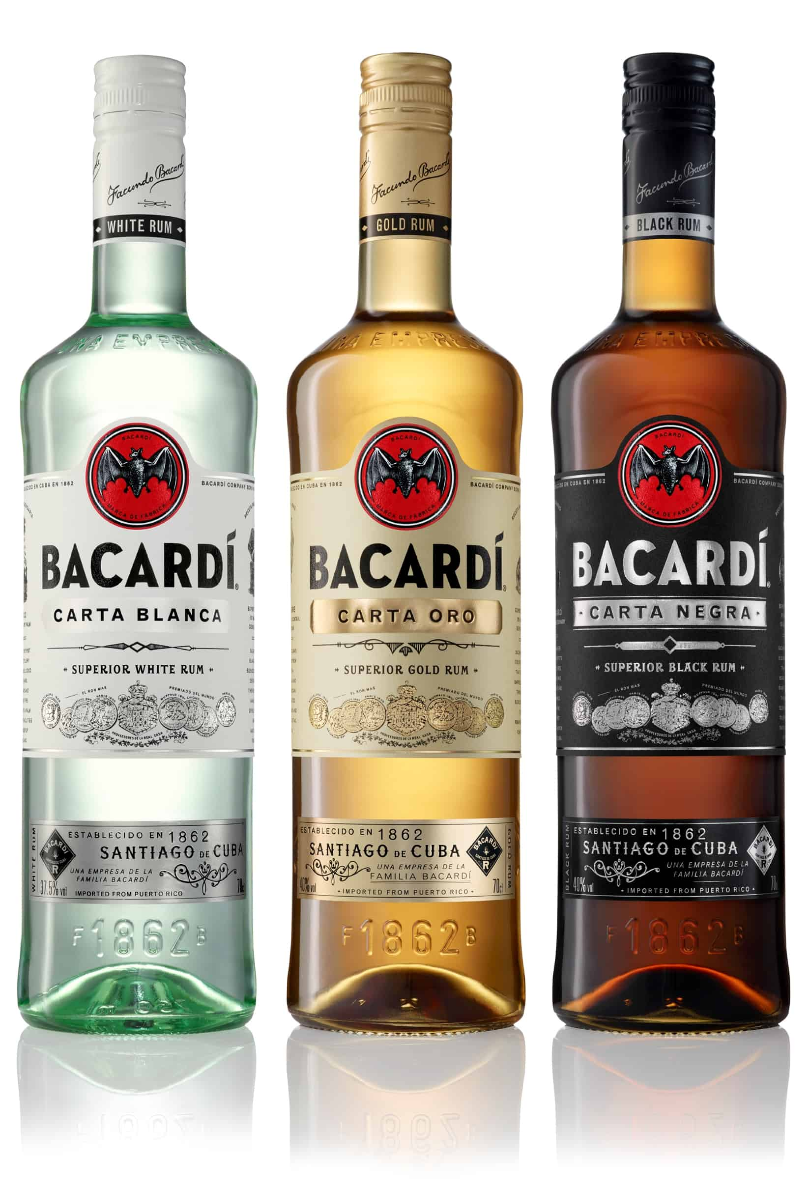 BACARDI Carta Range