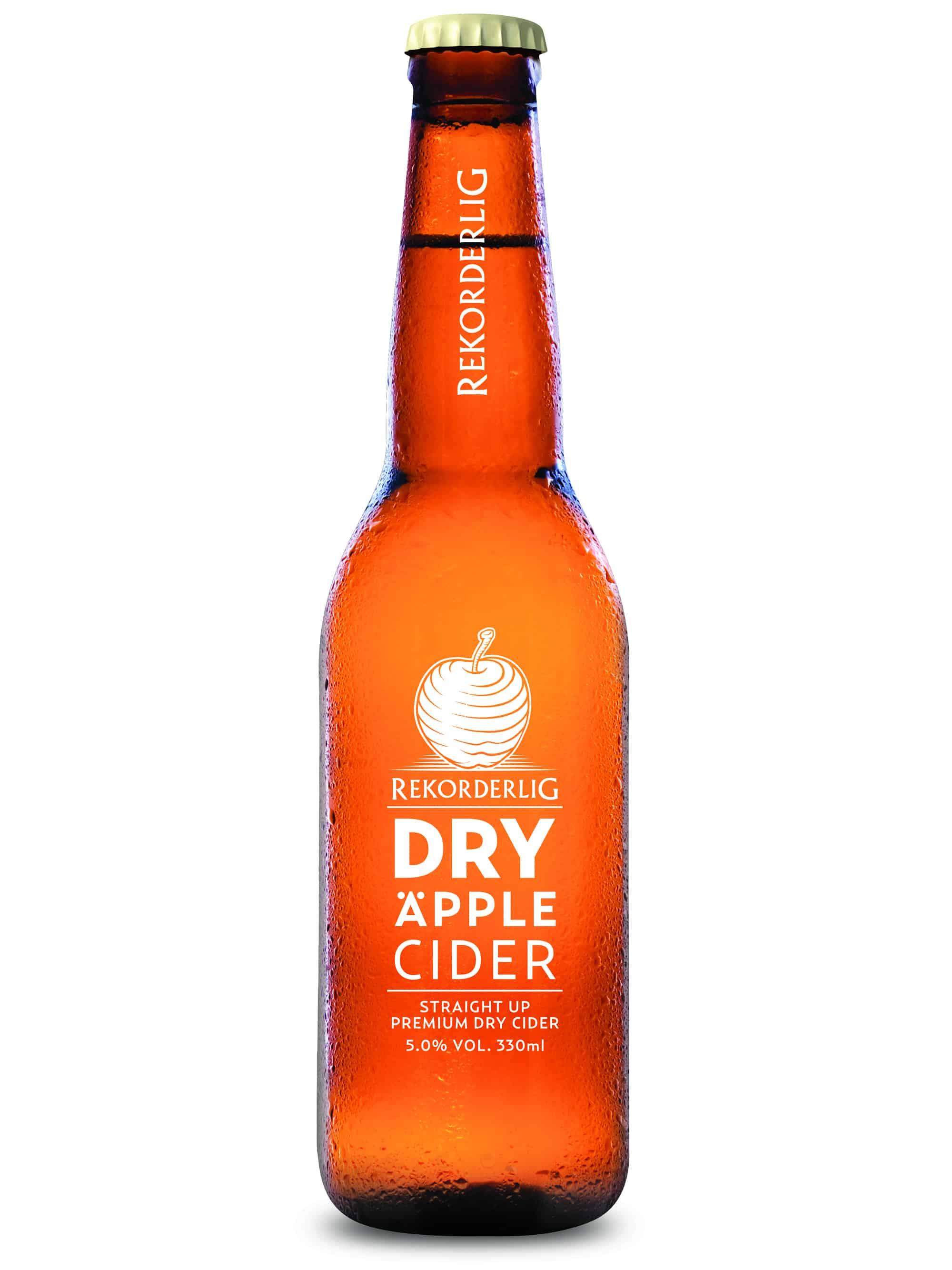 Rekorderlig Dry Apple Cider 330ml Bottle UK