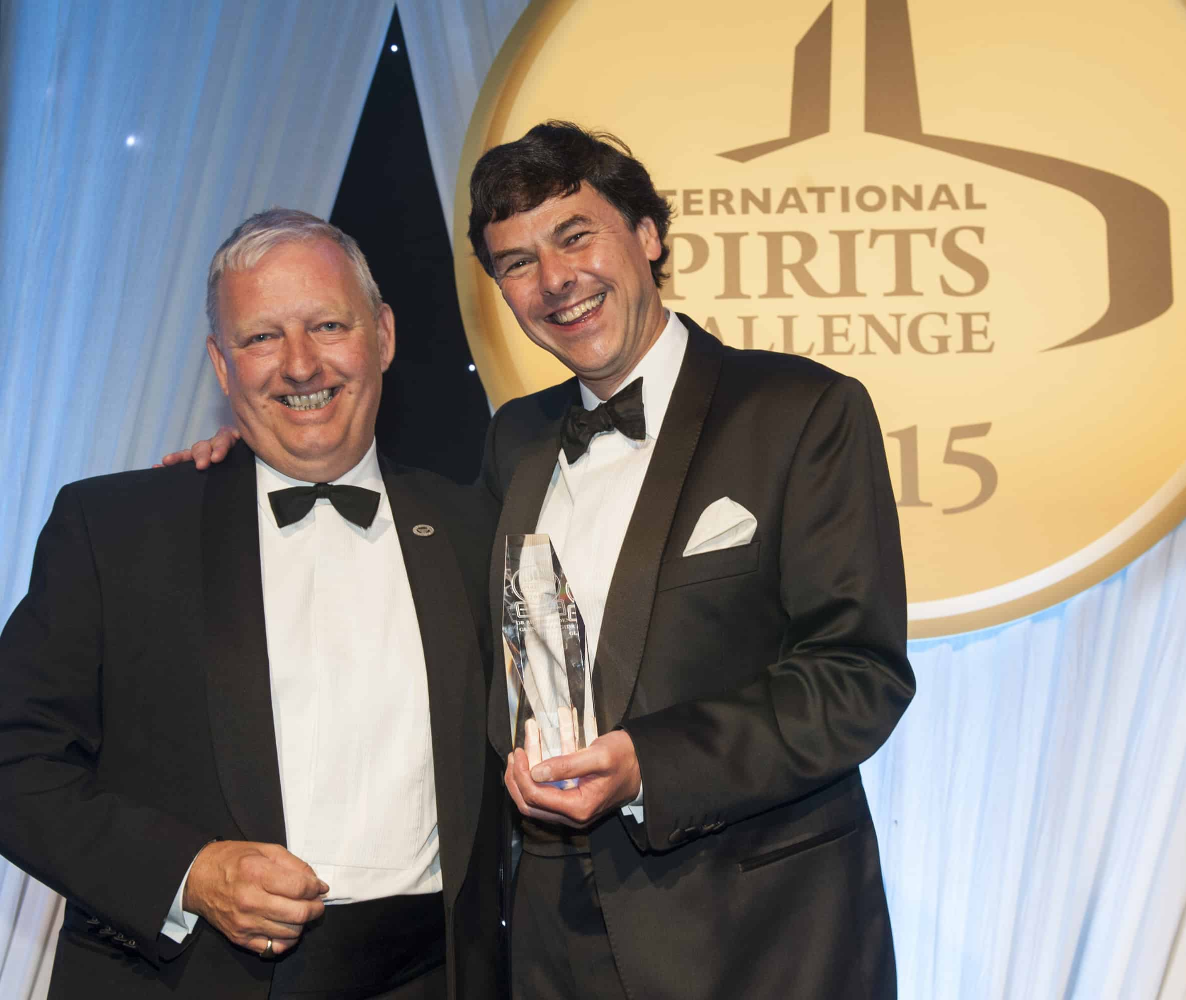 Dr Bill Lumsden right named ISC Master Distiller Of the Year 2015