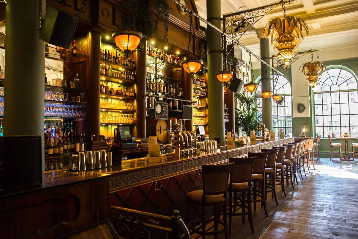 The Trading House bar area 2