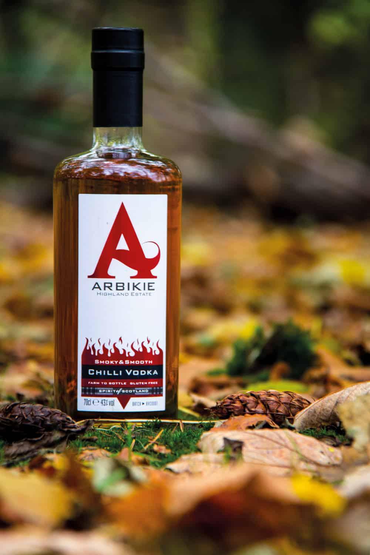 Chilli Vodka from Arbikie