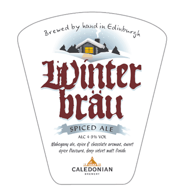 Winter guest Ale for Caledonian brewery