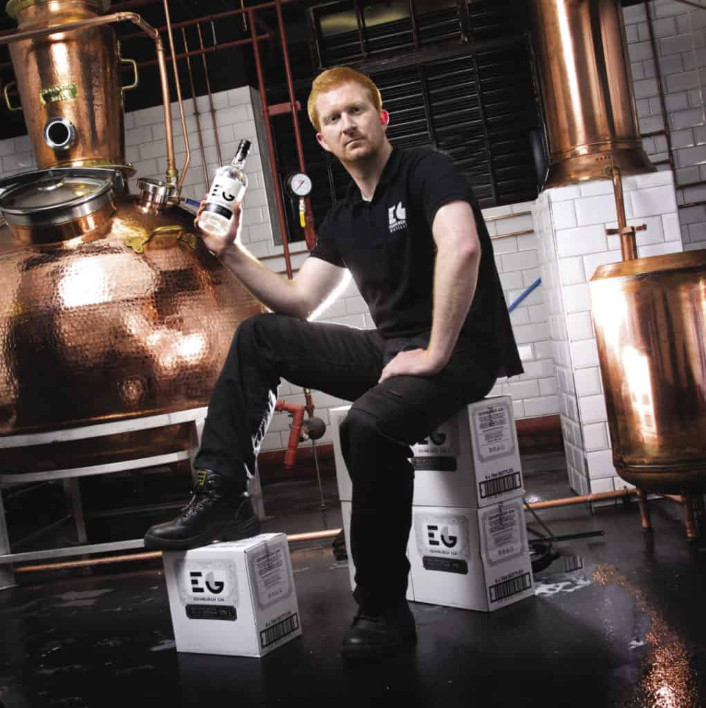 David Wilkinson Edinburgh gin