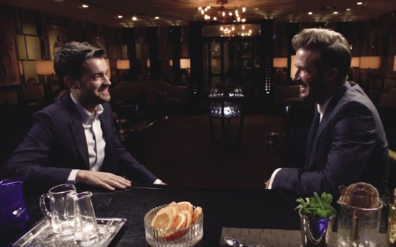 Whitehall and Beckham star in Two Whiskies