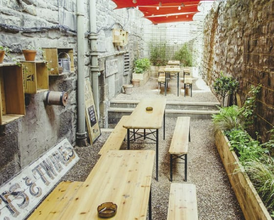 The Salt Horse opens on Blackfriars' site