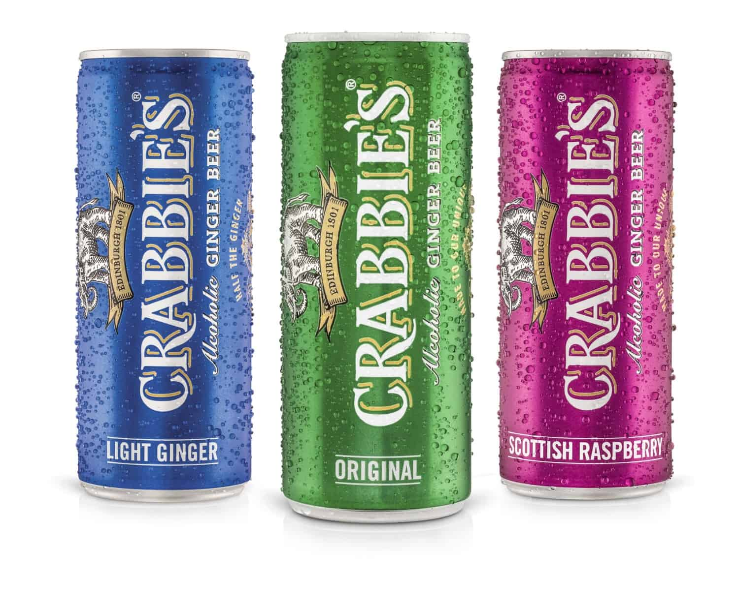Crabbies 250ml cans