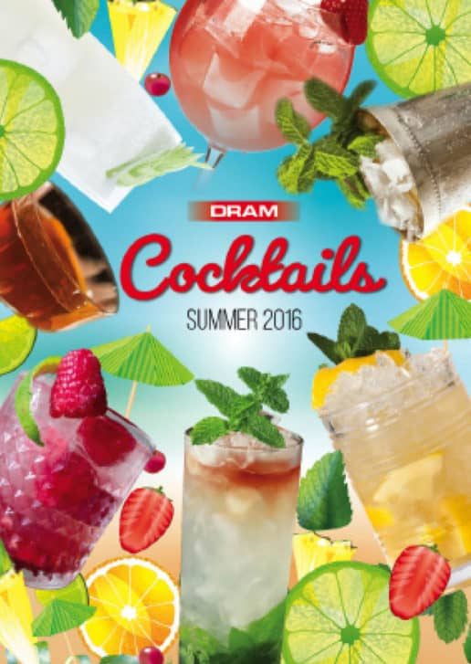 DRAM summer cocktails book 2016