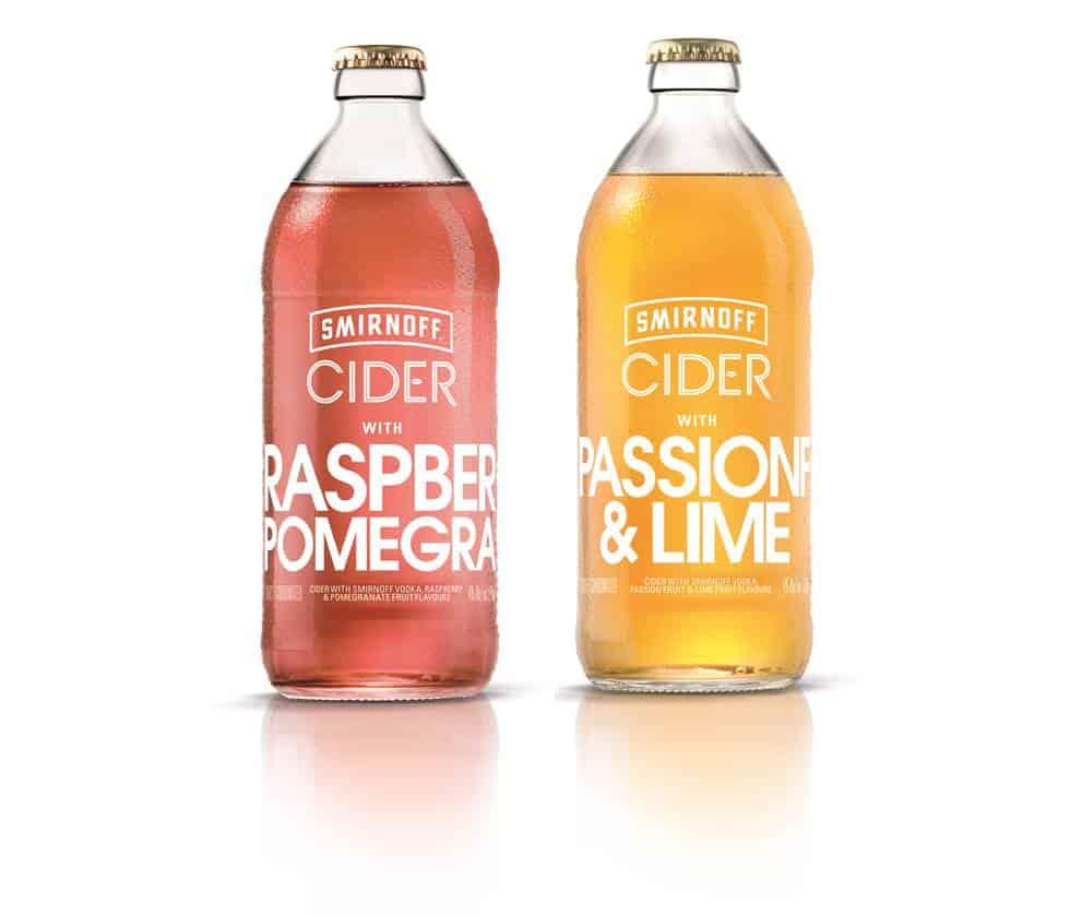 Smirnoff Cider range