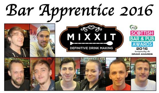 Dram mixxit bar apprentices