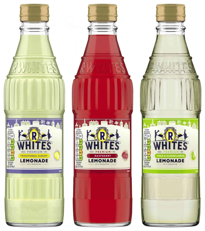R Whites Lemonade Glass Bottles