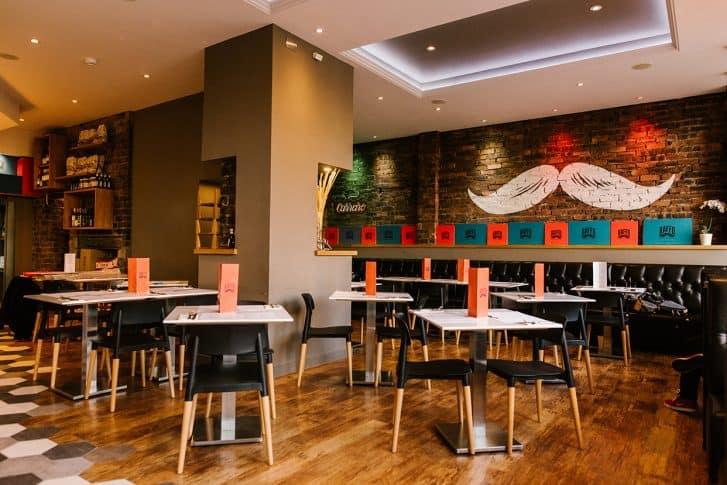 Design focus baffo restaurant glasgow dram scotland