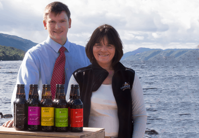 Loch Ness Beer Rescued