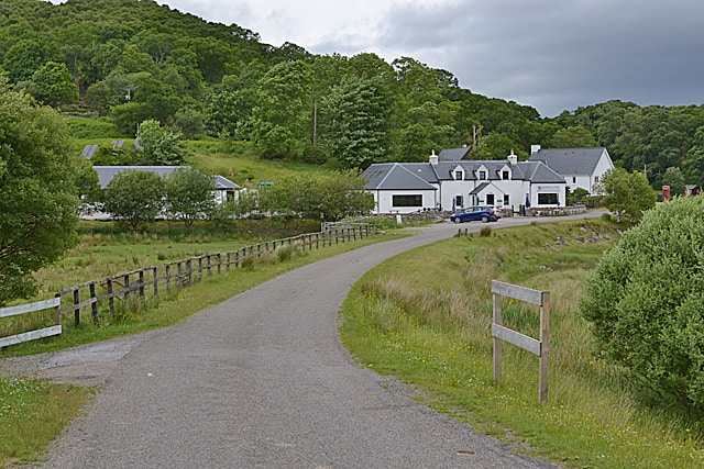 Glenuig Inn - Copyright Nigel Brown and licensed for reuse under this Creative Commons Licence