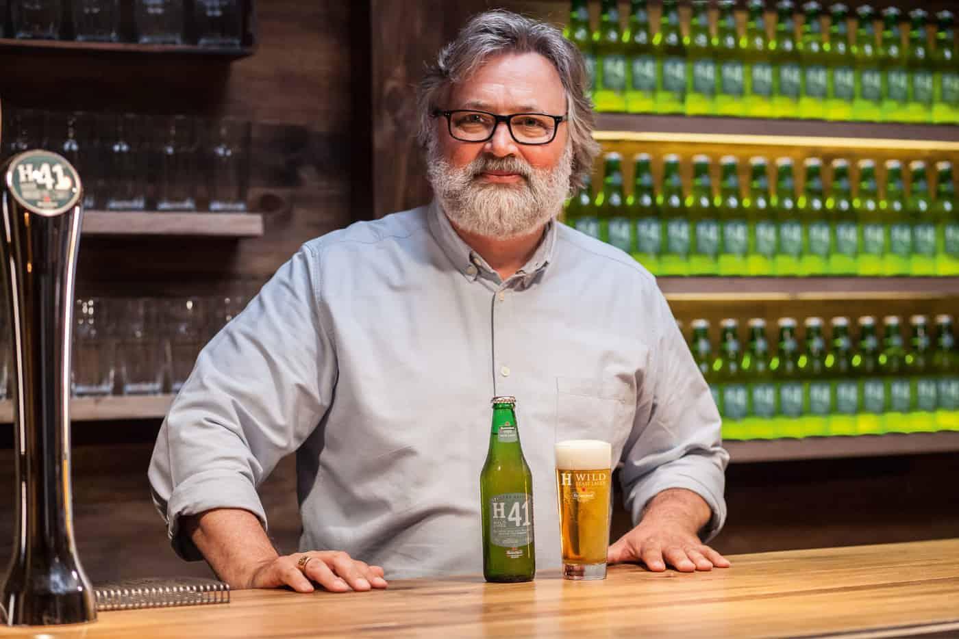 Willem Van Waesberghe Heineken master brewer