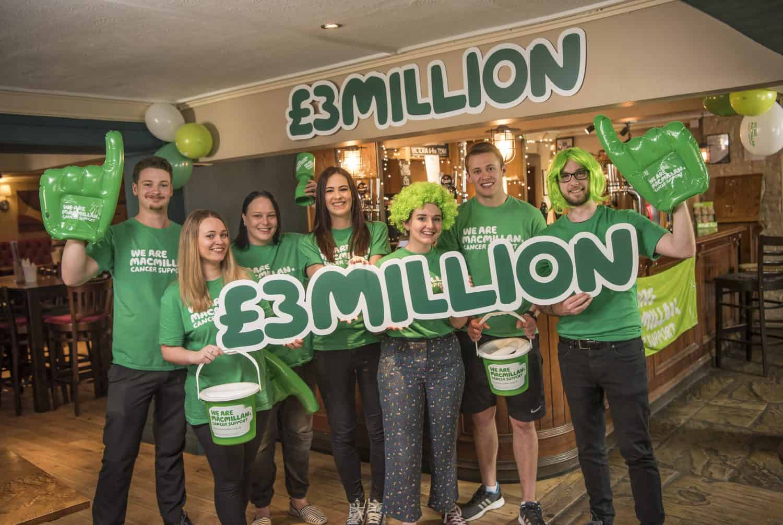 Greene King raise £3m