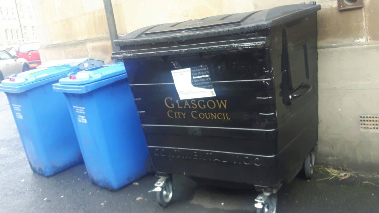 Bins Glasgow