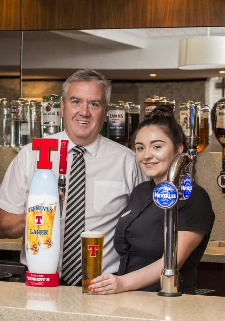 Tennent's Lager fount