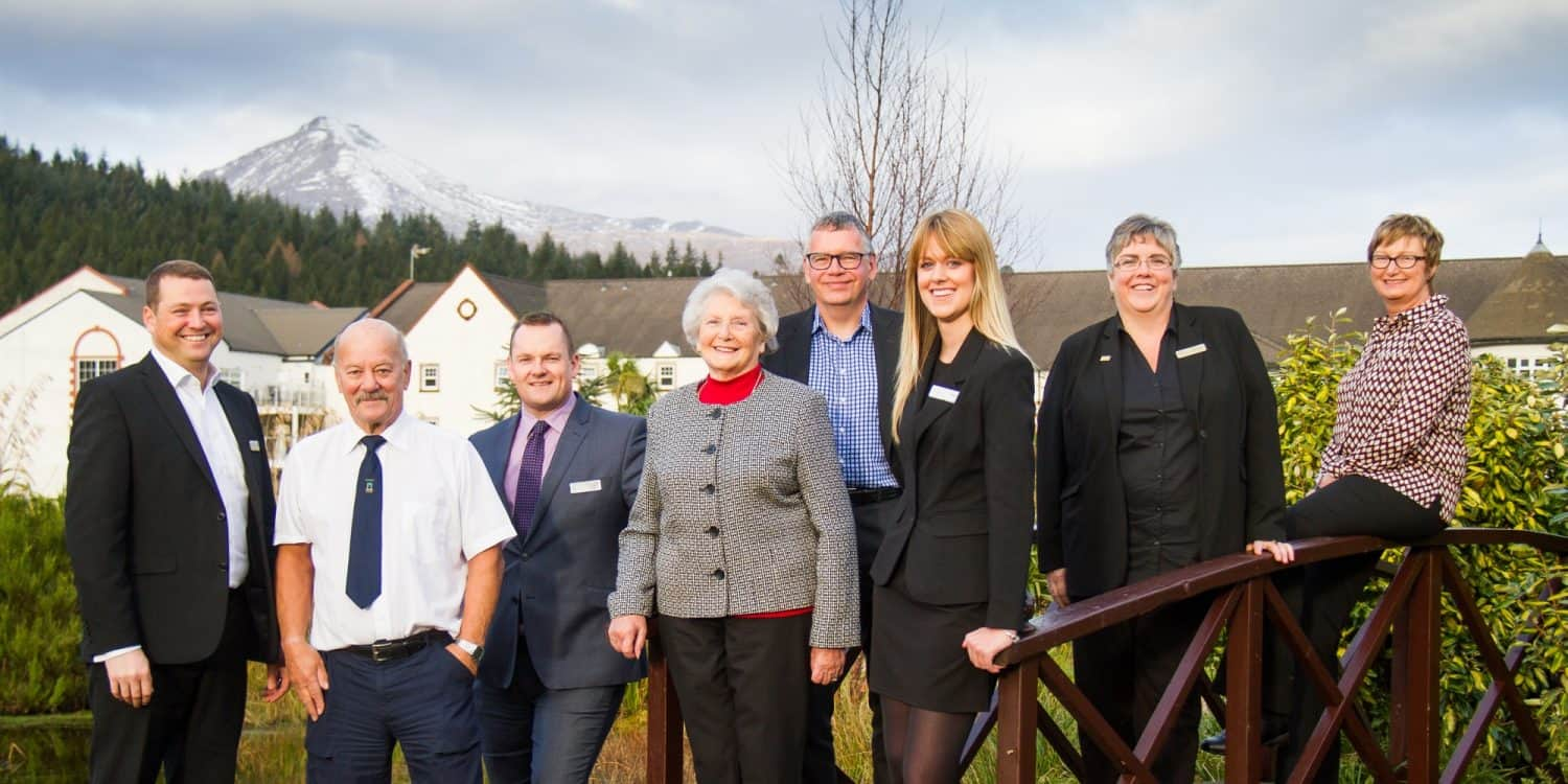 Auchrannie management team