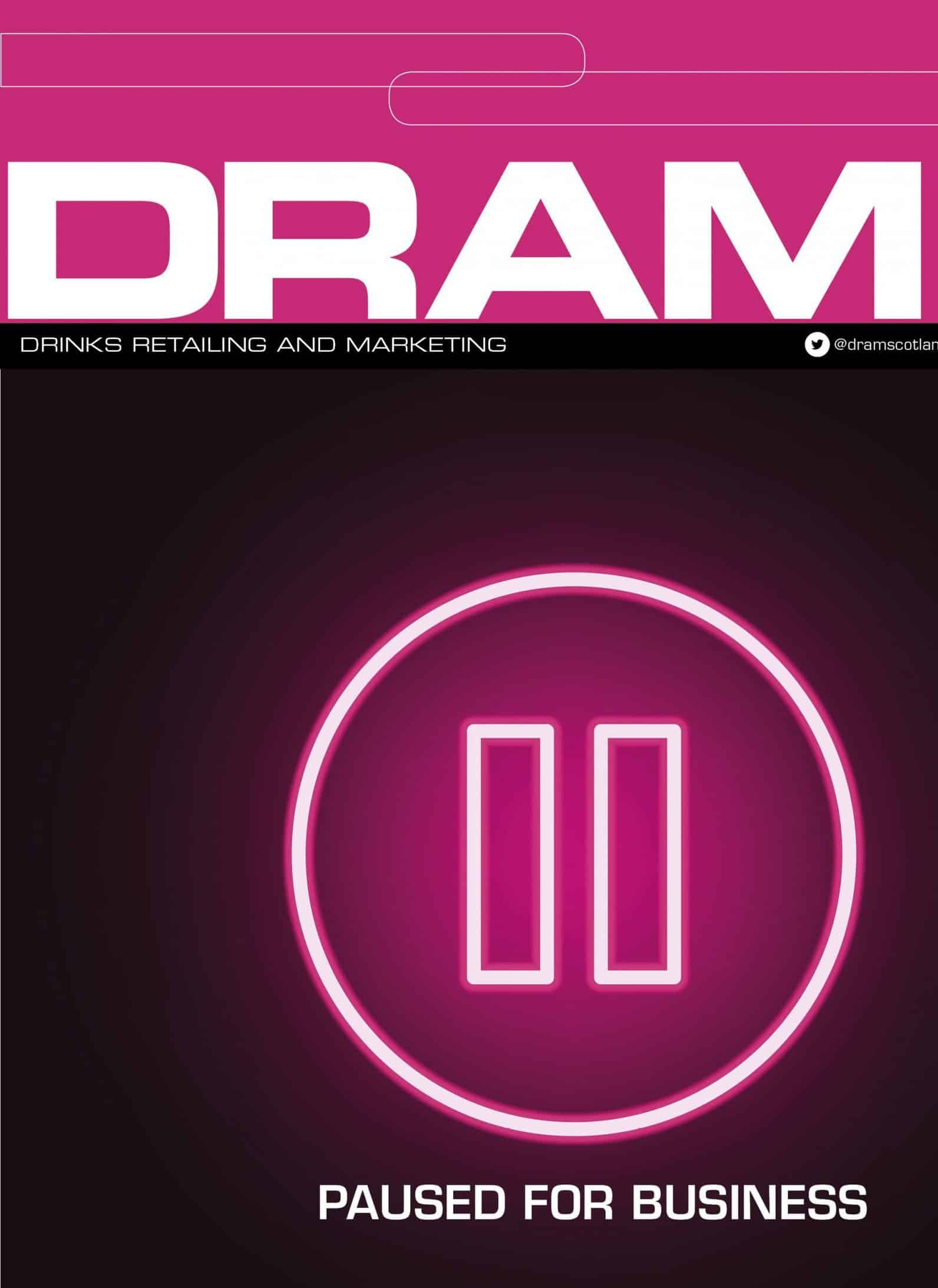 DRAMApril cover