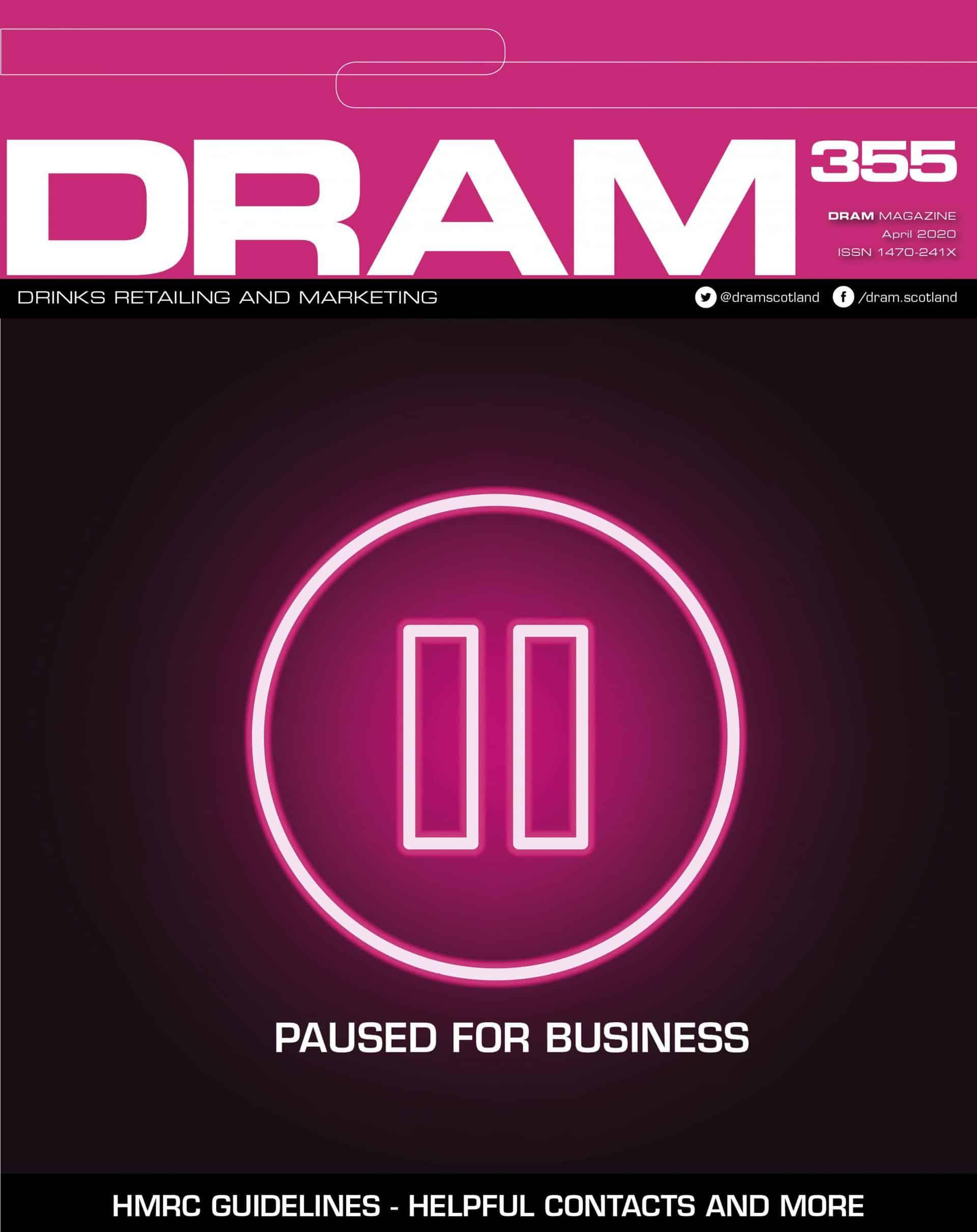 DRAMApril cover