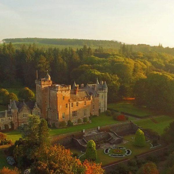 Glenapp-Castle-Aerial-View