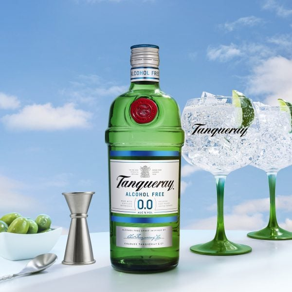 Tanqueray Bottle Serves