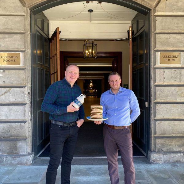 Stack-Still-co-founders-L-R-announce-Edinburgh-opening-at-The-Assembly-Rooms-from-22-July