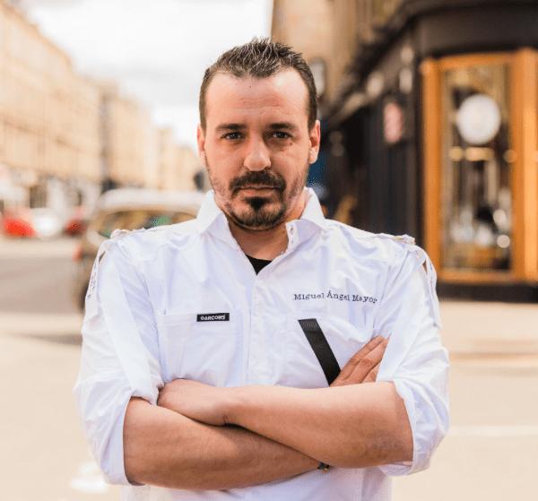 chef Miguel Angel Mayor