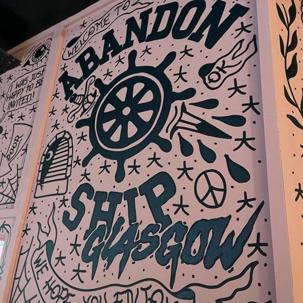 Abandan-Ship-Bar-Glasgow